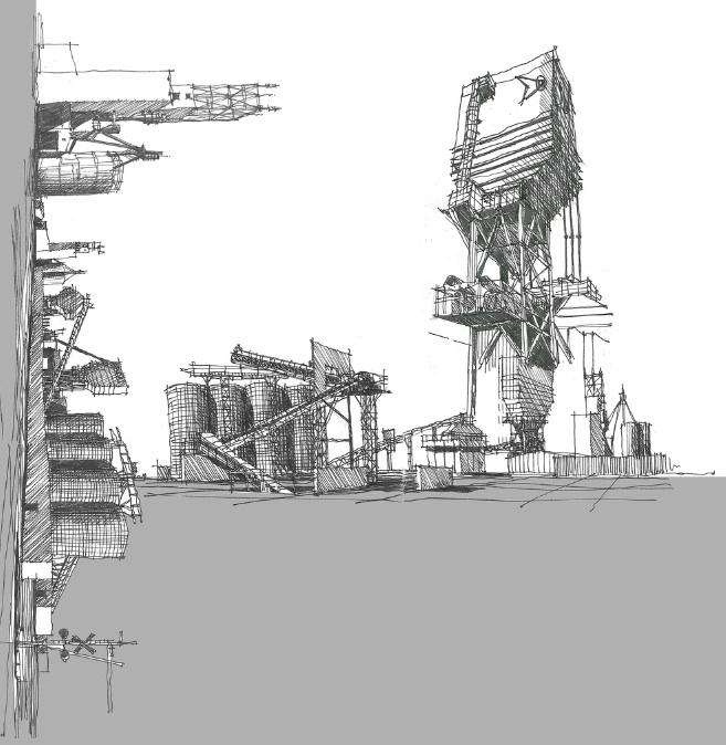 Paisajes industriales | Donde está Houdini