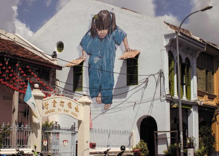 Ernest Zacharevic Y Los Murales Interactivos Donde Esta Houdini